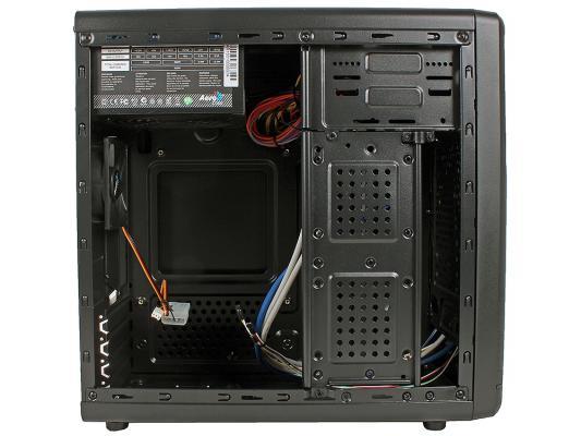 Корпус microATX Aerocool Qs-182 450 Вт чёрный 4713105954982