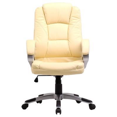 Кресло руководителя College BX-3177 экокожа бежевый  - купить со скидкой