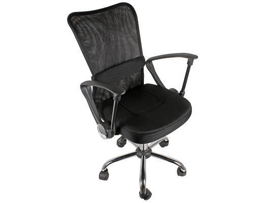 Кресло руководителя College H-298FA-1 ткань черный кресло руководителя college bx 3001 1 brown