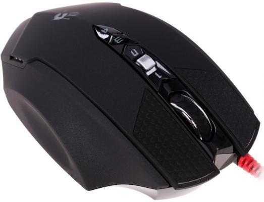 Мышь проводная A4TECH Bloody Terminator TL7 чёрный серый USB a4tech bloody terminator tl7 black grey игровая мышь