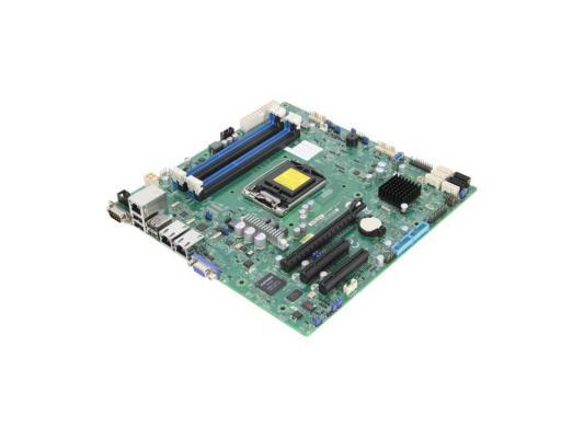 Материнская плата для ПК Supermicro MBD-X10SLA-F-O Socket 1150 C222 4xDDR3 1xPCI-E 4x 2xPCI-E 8x 2xSATA II 4xSATAIII ATX Retail