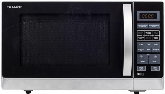 Микроволновая печь Sharp R7773RSL 25л гриль 900Вт серебристый