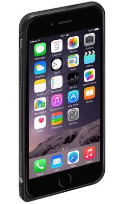 Бампер Deppa Alum Bumper для iPhone 6 чёрный 63142