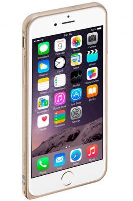 Бампер Deppa Alum Bumper для iPhone 6 золотой 63144