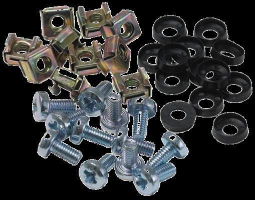 Набор закладных винтов-шайб-гаек под крестовую отвертку M6x12мм ITK ITK-HP-28 набор медных шайб под форсунки в боксе 150шт jtc 4061