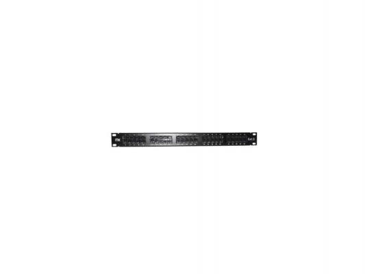 Патч-панель ITK PP50-1UC3U-K05 1U 50 портов категория 3 IDC Krone