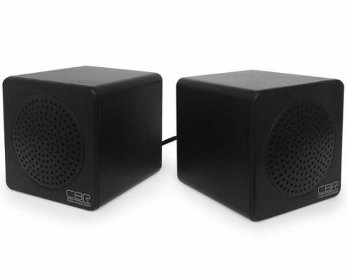 Колонки CBR CMS 292 2x0.5 Вт черный