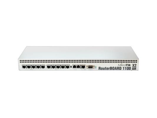 Маршрутизатор Mikrotik RouterBOARD RB1100AHx2 13x10/100/1000 Mbps