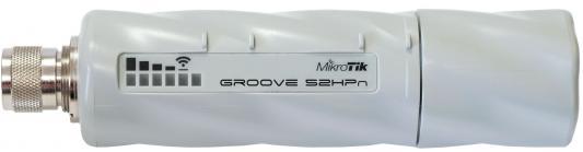 Купить Точка доступа MikroTik Groove A-52HPn 802.11bgn 125Mbps 2.4 ГГц 5 1xLAN белый