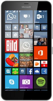 "Смартфон Microsoft Lumia 640 XL Dual Sim белый 5.7"" 8 Гб A00024396"