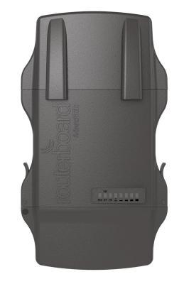 Маршрутизатор MikroTik NetMetal 5 802.11aс 900Mbps 5 ГГц 1xLAN USB серый