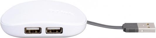 Концентратор USB D-Link DUB-1040/A1B 4 порта USB2.0