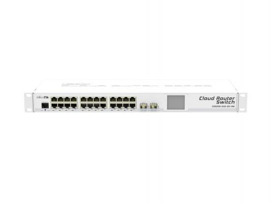 Маршрутизатор Mikrotik CRS226-24G-2S+RM 24x10/100/1000Mbps 2xSFP+ Rack Mount