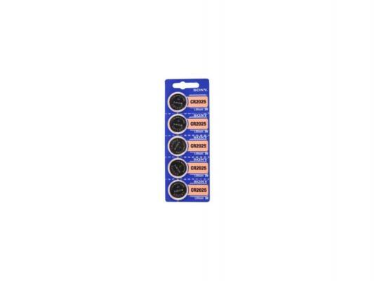 Батарейки Sony CR2025 5 шт