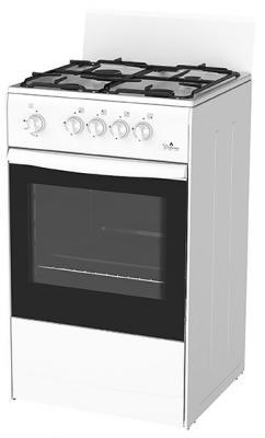 Газовая плита Darina S GM441 001 белый плита дарина 1 b gm441 105w