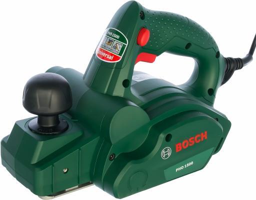 Рубанок Bosch PHO 1500 550Вт 82мм рубанок bosch pho 1500