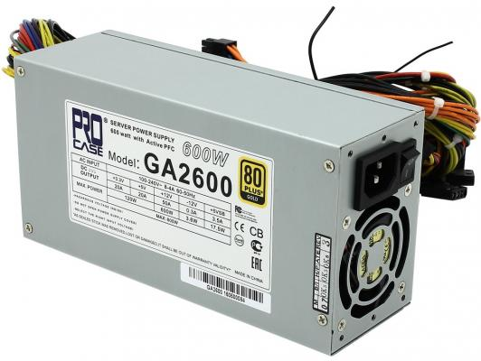 БП 600 Вт Procase GA2600