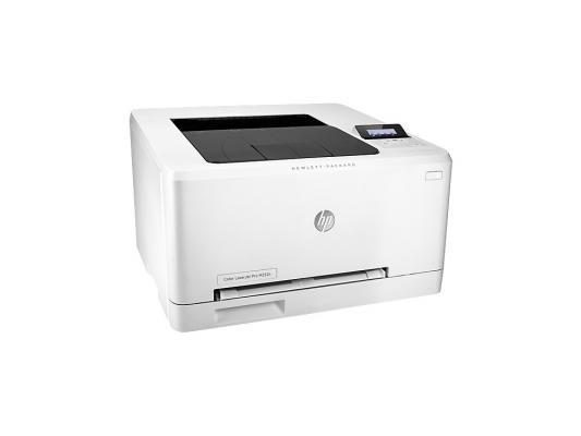 Принтер HP LaserJet Pro 200 M252n B4A21A цветной A4 18ppm 600x600dpi 128Mb Ethernet USB