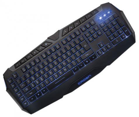 Клавиатура Crown CMK-303 USB черный