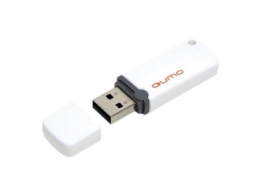 Флешка USB 16Gb QUMO Optiva 02 USB2.0 белый QM16GUD-OP2-White от 123.ru
