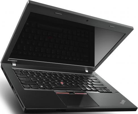 "Ноутбук Lenovo ThinkPad L450 14"" 1366x768 Intel Core i5-5200U 20DT0015RT от 123.ru"