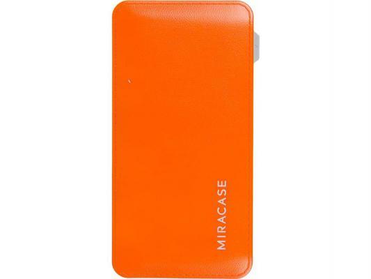 Портативное зарядное устройство Miracase MACC829 6000 mAh 2A оранжевый
