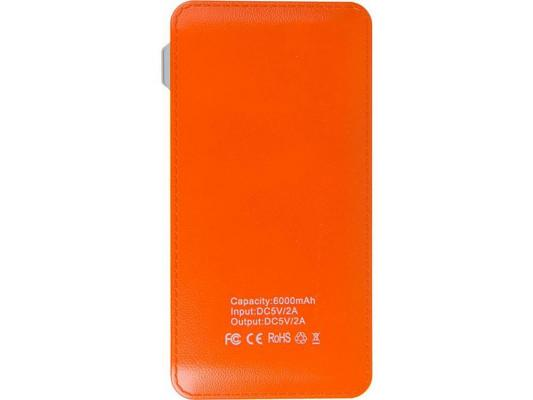 Портативное зарядное устройство Miracase MACC829 6000 mAh 2A оранжевый от 123.ru