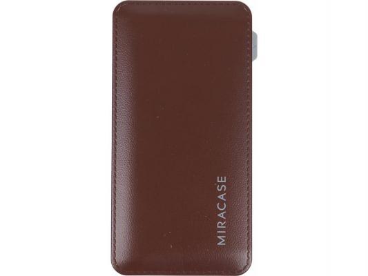 Портативное зарядное устройство Miracase MACC829 6000 mAh 2A коричневый