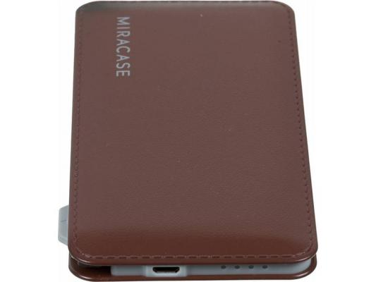 Портативное зарядное устройство Miracase MACC829 6000 mAh 2A коричневый от 123.ru