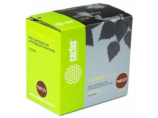 все цены на Тонер-картридж Cactus CS-TNP22Y для Konica Minolta C35/C35P желтый 6000стр онлайн