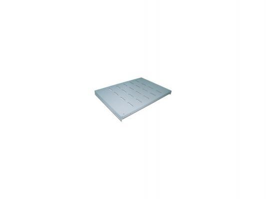 Полка Lanmaster TWT-RACK2-S4-10/80 для двухрамных стоек глубина 1000мм 4 точки до 80 кг серый