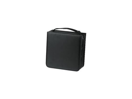 Фото - Портмоне HAMA для 304 CD нейлон черный + чистящая салфетка для CD H-33837 портмоне hama h 33833 черный для 120 дисков [00033833]