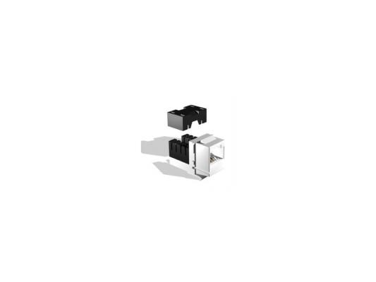 Модуль информационный Brand-Rex GigaPlus GPCJAKU013LF Keystone RJ45 кат.5e белый cat6 180 degree angle rj45 ethernet keystone round jack coupler pack of 5