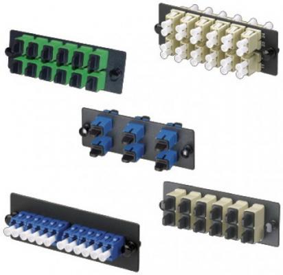 Патч-панель Panduit FAP6WBUDLCZ 6xLC дуплексные керамические SM панель кабельная panduit cmphhf1