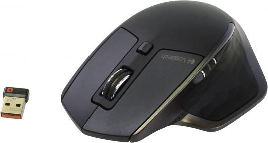 все цены на  Мышь беспроводная Logitech MX Master чёрный коричневый USB + Bluetooth 910-004362  онлайн