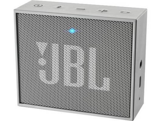 Портативная акустика JBL GO серый портативная акустика jbl go бирюзовая jblgoteal