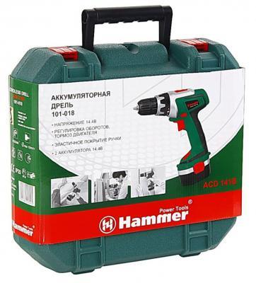 Аккумуляторная дрель-шуруповерт Hammer ACD141B