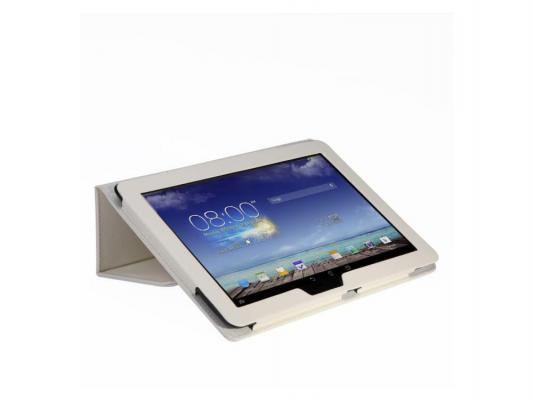 Чехол IT BAGGAGE для планшета Asus MeMO Pad 10 ME103K искуcственная кожа белый ITASME103K-0