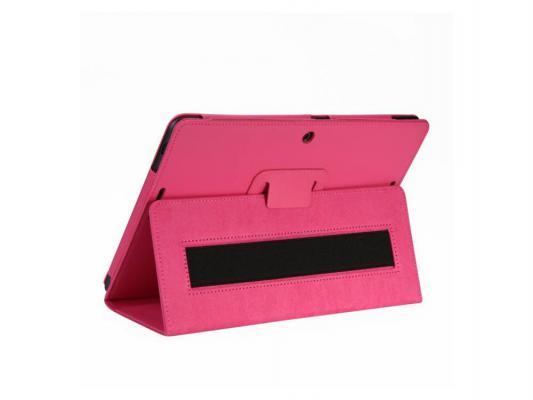 Чехол IT BAGGAGE для планшета Asus MeMO Pad 10 ME103K искуcственная кожа красный ITASME103K-3