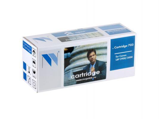 Картридж NV-Print 703 для Canon i-SENSYS LBP2900B i-SENSYS LBP3000 i-SENSYS LBP2900 2000 Черный flower candles print waterproof shower curtain