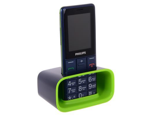 """Мобильный телефон Philips E311 синий 2.4"""" Navy"""