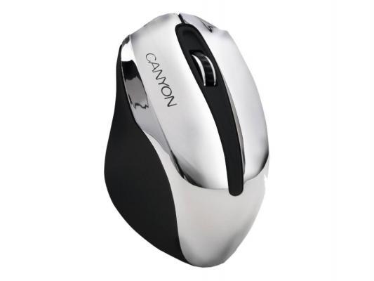 Купить Мыши   Мышь Canyon CNL-CMSOW01 черно-серебристый USB
