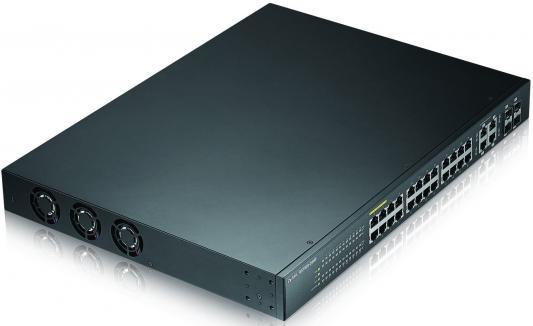 Коммутатор Zyxel GS1920-24HP управляемый 24 порта 10/100/1000Mbps 4xSFP PoE коммутатор cisco sg110 24hp eu неуправляемый 24 порта 10 100 1000mbps