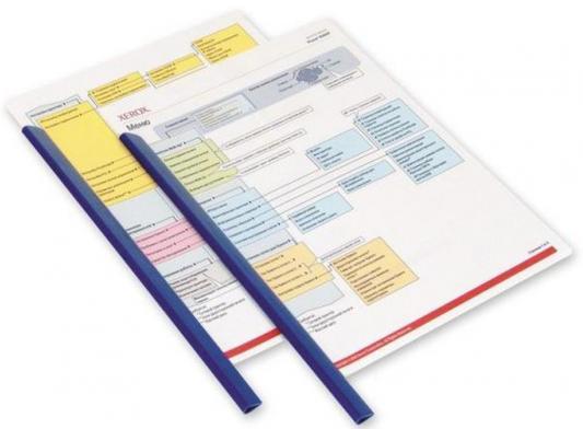Скрепкошина Durable Spine Bars 13мм до 60лист пластик синий 100шт 290106