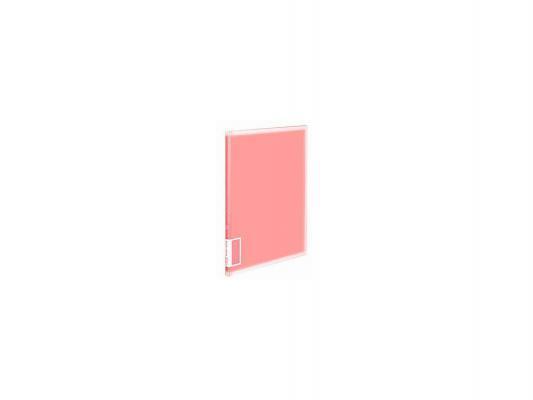 Папка с 10 прозрачными вкладышами Kokuyo RA-V10P A4 розовый kokuyo kokuyo campus классический книжный переплет книги ноутбук мягкие рукописи в5 60 страница 4 случайный цвет в соответствии с настоящим аппаратом wcn cnb1610