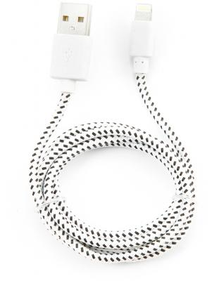 Кабель Konoos USB 1м для iPhone 5 iPhone 6 iPod iPad 8pin Lightning белый KC-A2USB2nw