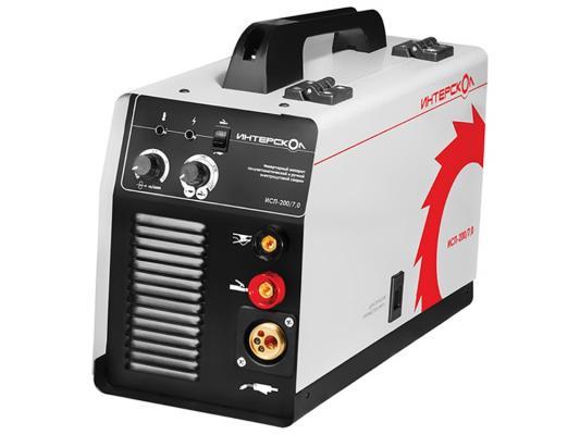 Аппарат сварочный Интерскол ИСП-200/7,0 сварочный аппарат интерскол исп 160 5 9 mig mag mma