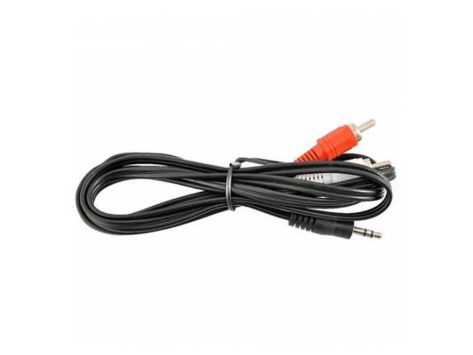 Кабель соединительный 1.8м VCOM Telecom 3.5 Jack (M) - 2xRCA (M) стерео аудио VAV7183-1.8M