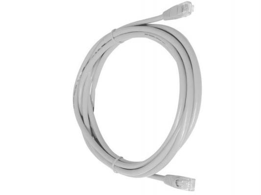 Патч-корд UTP 5е категории Telecom 50м литой серый