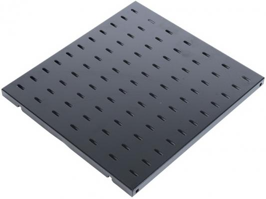 Полка перфорированная ЦМО глубина 450 мм черный СВ-45-9005  - купить со скидкой